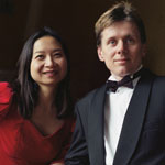 Anne Ku and Robert Bekkers in London