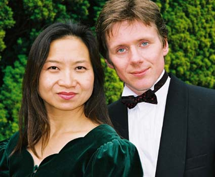 Anne Ku and Robert Bekkers piano guitar duo
