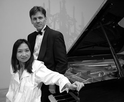 Piano Guitar duo of Anne Ku and Robert Bekkers