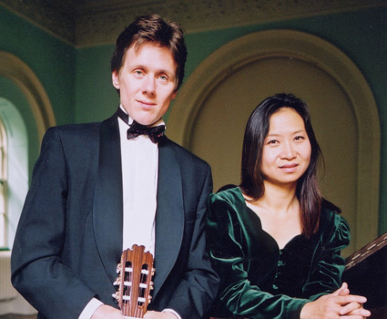 Robert Bekkers and Anne Ku at Pitshanger Manor House in London Ealing, 2002