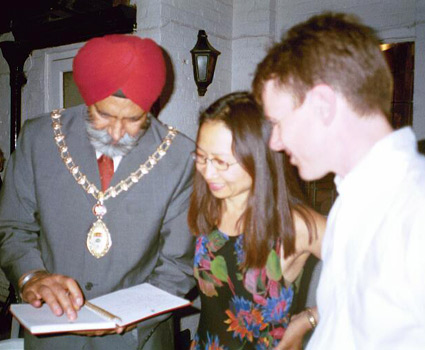 Mayor of London Ealing with Anne and Robert