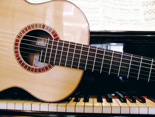 Guitar of Robert Bekkers and Piano of Anne Ku