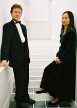 Guitar piano duo Robert Bekkers and Anne Ku in London