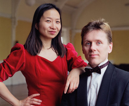 Anne Ku and Robert Bekkers at Colet House in London Hammersmith in 2003